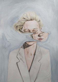 Selected drawings by New Zealand illustrator and artist: Henrietta Harris. Art And Illustration, Illustrator, Gcse Art, Watercolor Portraits, Watercolour, Art Design, Art Plastique, Graphic, Oeuvre D'art