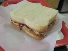Peanut Butter & Jelly Sandwich Cake