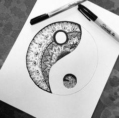 Yin yang sign