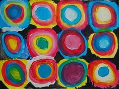red, yellow and blue only - mixing colors