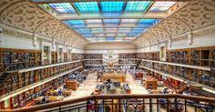 Biblioteca Mitchell ou Biblioteca Pública de New South Wales (Austrália) - Construída em 1910, a maior parte do acervo da biblioteca pública é sobre história da Austrália, cultura e literatura. O acervo contém cerca de 5 milhões de itens, entre livros, imagens, músicas, jornais e microfilmes