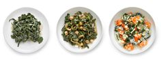 Super-Slow-Cooked Spinach via NYTimes