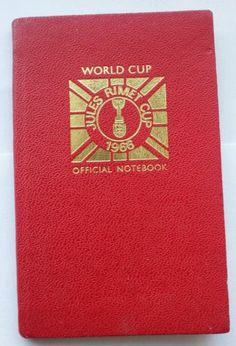 World Cup 1966 Official Notebook