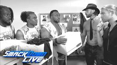 When Big E, Kofi Kingston and Xavier Woods need intel on Jimmy & Jey Uso on WWE SmackDown Live, who do they turn to? The Fashion Police, OF COURSE!