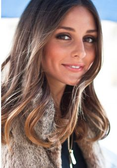 Love those highlights! Olivia Palermo.