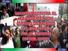 Colectivos Se manifiestan contra el FRAUDE del PRI frente al Instituto E...