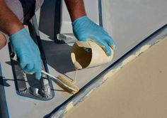 New Life for Old Decks: A fresh coat of deck paint on your vintage classic-plastic cruiser will make the old gal sparkle and shine.
