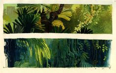 "shear-in-spuh-rey-shuhn: "" CHRISTIAN SCHELLEWALD Jungle Concepts """