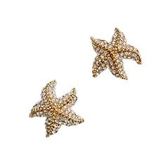 Starfish earrings from J.Crew, perfect accesory for a beach vaca. #JetsetterCurator