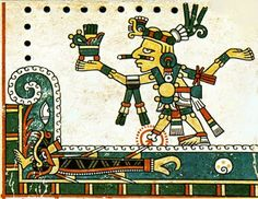 "Tezcatlipoca, ""Smoking Mirror"", is an Aztec god associated with black magic, obsidian, and the jaguar. Various sources connect this Black God with the nocturnal sky, the subconscious mind, the ancestral memory and Time."