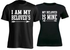 Live your love out loud with these His/Her Beloved Shirts.
