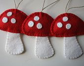 Scandanavian Felt Ornaments