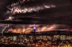 Thunderstorm over Johannesburg