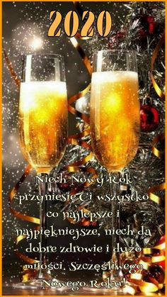 Good Night Messages, New Year 2020, Happy New Year, Wish, Alcoholic Drinks, Glass, Cards, Aster, Humor