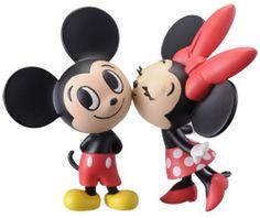 Modern pets friend - Mini Figure: Mickey Mouse & Minnie Mouse: Set of 2