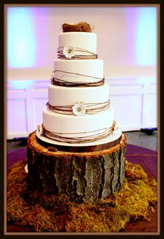 woodland wedding cake - Google Search