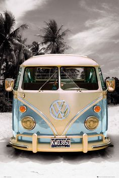 VolksWagen Van   i wld pack the family cook up some food pack the cooler and just roll