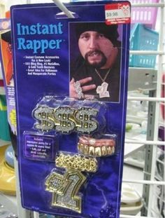 How to be a rapper instantly! Got my mind on my money money on my mind!