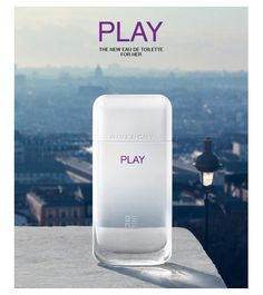 Givenchy Play For Her Eau de Toilette ~ New Fragrances