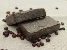 Ručne robené mydlo Kávové. Natural Soaps, Zero Waste, Shampoo, Projects To Try, Clay, Good Things, Homemade, Chocolate, Food