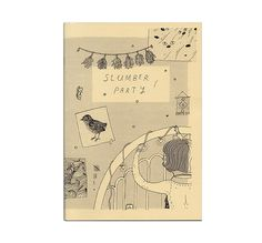 Slumber Party Zine Cover | by Sarah McNeil