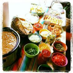 Nacho Bar - so need to try this with friends for a get together sometime!