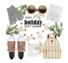 """Sister Gift Guide"" by janicevc ❤ liked on Polyvore featuring Ana Accessories, MCM, Dogeared, L.K.Bennett and Wildfox"