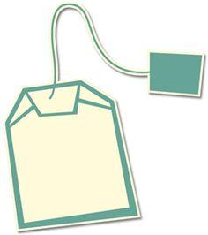 Silhouette Online Store - View Design #16450: tea bag
