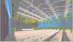 Simuler la visibilité d'un usager - Conception d'un auditorium en 3D