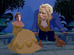 Paloma Nevada's mash-up of Disney and GOT characters:  Jaime & Brienne as Beauty & the Beast