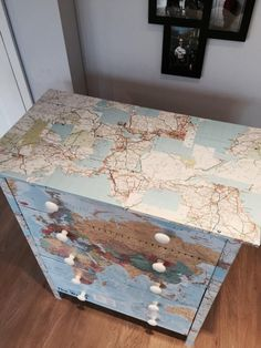 A Decoupage Guide: Upcycling Your Chest of Drawers