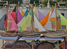 Everything-Todo Tour Eiffel, Jardin Des Tuileries, Louvre, Triomphe, Paris, Sailing Ships, Boat, The Visitors, Boats