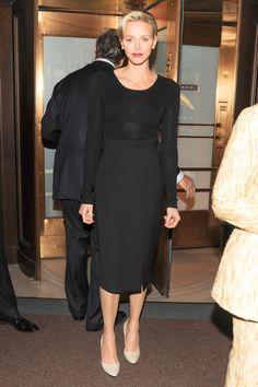 2015 - Princess Charlene of Monaco   - HarpersBAZAAR.com