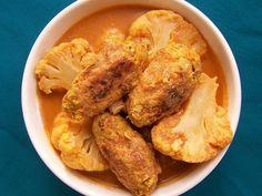 Indiase kofta met currysaus, vegan