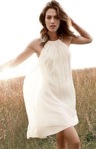 "Calvin Klein Beaded Halter Chiffon Dress"" data-componentType=""MODAL_PIN"