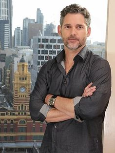 Eric Bana is promoting new film Deliver Us From Evil, much of which was filmed at night in the Bronx. I Love My Hubby, Love My Man, Most Beautiful Man, Gorgeous Men, Erick Bana, Top Hollywood Actors, The Way He Looks, Christian Bale, Alexander Skarsgard
