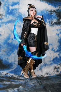 lol  Ashe Cosplay