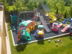 Savanna's future play area at Nana's house