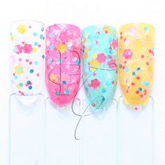 NEW In Bloom Nail Polish Spring Collection by PopCultureCosmetics, $8.50