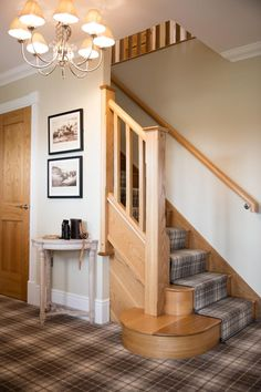 Another warm welcome check out our stunning tartan carpet in the Balmoral show home in Woodford Garden Village Cheshire. Tartan Stair Carpet, Carpet Staircase, Hall Carpet, Diy Carpet, Carpet Ideas, Modern Carpet, White Carpet, Cheap Carpet, Bedroom Carpet