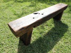 Railway Sleeper Garden Bench Seat OIL Finish Handmade in Rowville, VIC | eBay: More