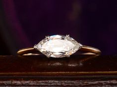 In love with this antique ring (hint hint honey) EB 1.03ct Marquise Ring