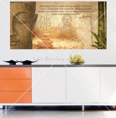 Decorated wall with My Way adhesive. Fast and easy placement. / Pared decorada con vinilo adhesivo My Way. Colocación rápida y fácil.
