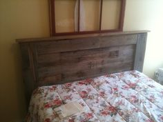 Pallet headboard for mom. - The UP Project