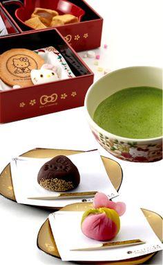 Hello Kitty Cafe Kyoto - has a ghibli store next door