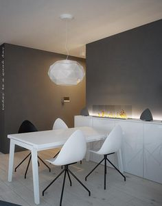 Dining room interior design Katowice - archi group.