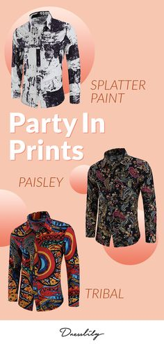 13468d86cdb The gifts ideas for Father s Day.Casual Totem Print Long Sleeve Shirt . fathersday