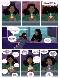 Agents of the Realm by Mildred Louis (Webcomic)