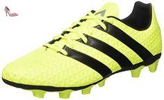 online retailer 03bf8 de1bb adidas ACE 16.4 FxG - Chaussures de football pour Homme, Jaune , Taille 41