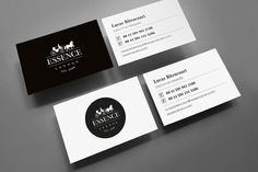 Essence / 2012 by kissmiklos , via Behance Cool Business Cards, Custom Business Cards, Business Card Design, Self Branding, Personal Branding, Logo Branding, Small Words, Vintage Typography, Print Packaging